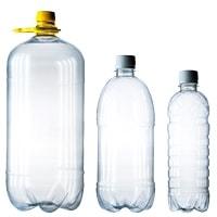 ПЭТ бутылки бесцветные
