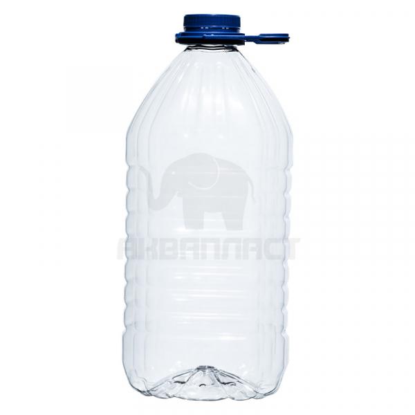 Бутылка ПЭТ 4.7 л. горло 48 мм. с колпачком и ручкой