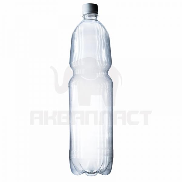 Бутылка ПЭТ 1.5 л. горло 28 мм. с колпачком