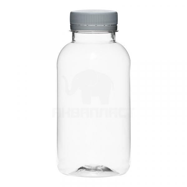 0,3 л. ПЭТФ бутылка круглая б/ц горло 38 мм BPF 100 шт Колпачок
