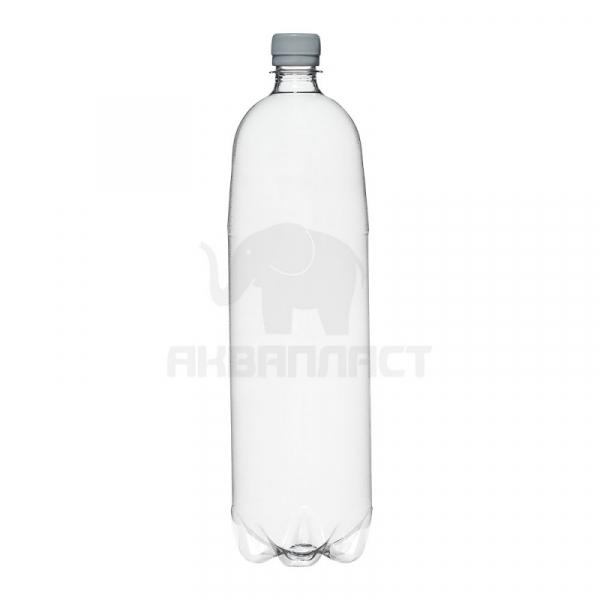 1,5 л. ПЭТФ бутылка б/ц гладкая BPF 70 шт Колпачок