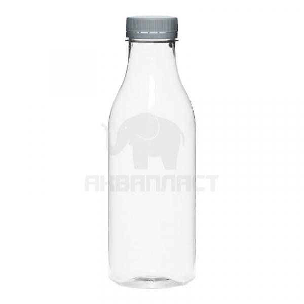 0,5 л. ПЭТФ бутылка б/ц гладкая круглая 38 горло 100 шт Колпачок