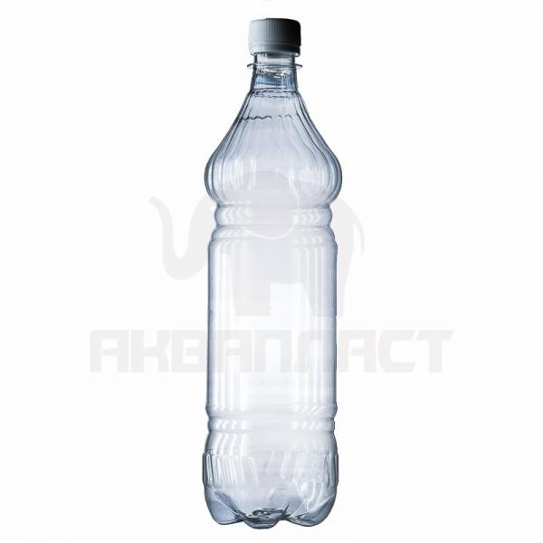 Бутылка ПЭТ 1.5 л. горло 28 мм. ВВС с колпачком