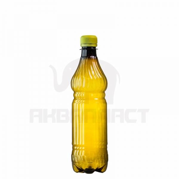 Бутылка ПЭТ 0.5 л. горло 28 мм. ВВС с колпачком тёмная
