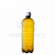 Бутылка ПЭТ 0,5 л. горло 28 мм. класическая темная с колпачком