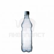 Бутылка ПЭТ 0.5 л. горло 28 мм. ВВС с колпачком