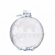 Бутылка ПЭТ 5.0 л. горло 48 мм. Мяч с колпачком и ручкой