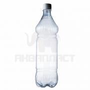 Бутылка ПЭТ 1.0 л. горло 28 мм. ВВС с колпачком