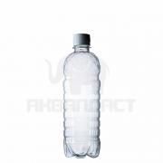 Бутылка ПЭТ 0.5 л. горло 28 мм. класическая с колпачком